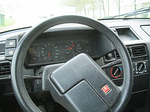 dashboard Citroën BX