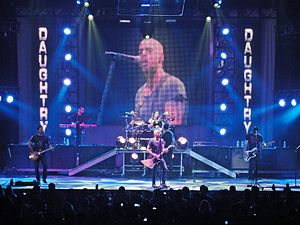 Daughtry (band) - Image: Daughtry live at Laredo Energy Arena in Laredo, Texas