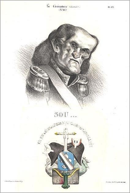 Daumier-Dieu Soult