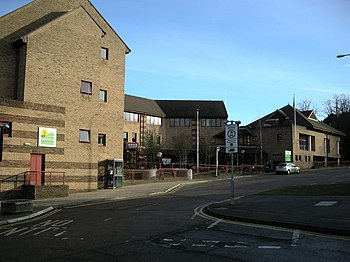 English: Daventry District Council Offices In ...
