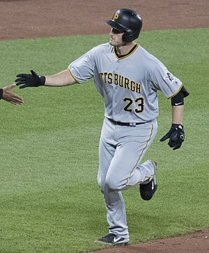 David Freese - Freese in 2017 with the Pirates