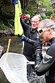 David Strickler holds a hellbender (9667527062).jpg