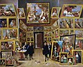 David Teniers (II) - Archduke Leopold Wilhelm in his Picture Gallery at BrusselsFXD.jpg