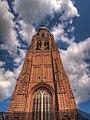 De toren van de Sint-Catharinakerk, Hoogstraten.jpg