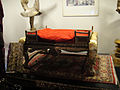 """Debbie Reynolds Auction - """"The King and I"""" two-tiered Oriental gilt-wood throne and base (5851595817) (2).jpg"""