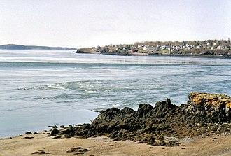 Deer Island (New Brunswick) - Image: Deer Island Point low tide