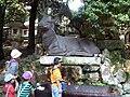 Deer chouzuya at Kasuga Taisha.JPG