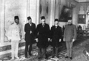 General Assembly of the Ottoman Empire - Delegation of the Ottoman Parliament to Abdul Hamid II.