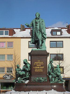Bremerhaven - City founder Johann Smidt