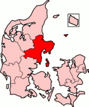 Aarhus County - Aarhus County in Denmark