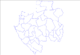 Departments of Gabon