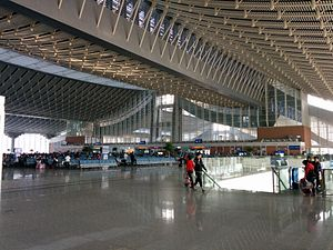 Departure Hall of Xiamen North Railway Station.JPG