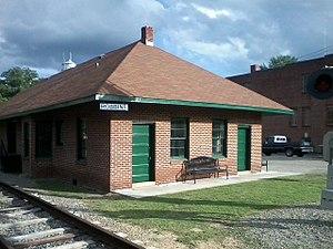 Robbins, North Carolina - Historic Robbins Depot