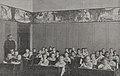 Der Märchenfries in der untersten Vorschulklasse des Kgl. Prinz-Georg-Gymnasiums in Düsseldorf gemalt von Hans Rilke, 1911.jpg