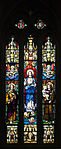 Derry St. Eugene's Cathedral South Aisle Window 7 Immaculate Heart of Mary with Saints Joseph and Anthony of Padua 2013 09 17.jpg