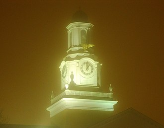 Tennessee Technological University - Derryberry Hall clock tower.