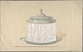 Design for a Glass Box with a Silver Base and Cover MET DP805643.jpg
