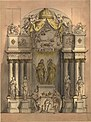 Design for a monument for King William III and Queen Mary II by Grinling Gibbons.jpg