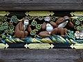 Detail of Monkey Frieze - Sacred Stable (Shinkyu) - Toshogu Shrine - Nikko - Japan - 02 (48042235423).jpg