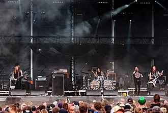 DevilDriver - DevilDriver performing live in 2018