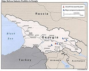 Map Of Georgia Pdf.Infrastructure Damage During The Russo Georgian War Wikipedia