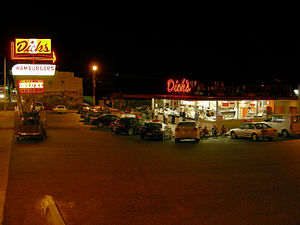 Dick's Drive-In - Dick's original location in Wallingford on a summer night.