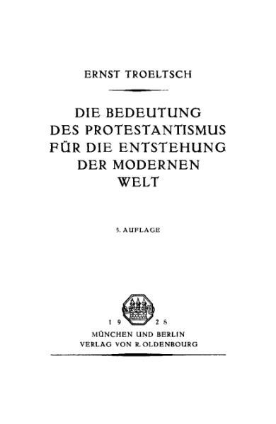 File:Die Bedeutung des Protestantismus für die Entstehung der modernen Welt.djvu