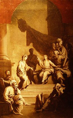 Dietrich Jezus nauczający w świątyni