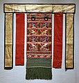 Dinastia joseon, grembiule posteriore dell'abbigliamento cerimoniale reale, 1890-1910 ca.jpg
