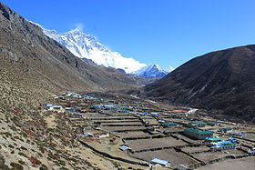 Image illustrative de l'article Dingboche