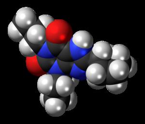 Dipropylcyclopentylxanthine - Image: Dipropylcyclopentylx anthine 3D spacefill