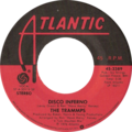 Disco Inferno by The Trammps US vinyl 1977 release.png