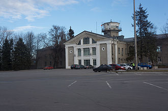 Dnipropetrovsk International Airport - Dnipropetrovsk International Airport Old Terminal