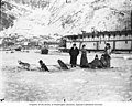 Dog team and sternwheeler, Dawson, Yukon Territory, between 1895 and 1905 (AL+CA 2742).jpg