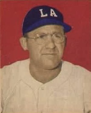 Dom Dallessandro - Dallessandro's 1949 Bowman Gum baseball card, during his tenure with the PCL Los Angeles Angels