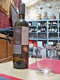 Domaine Tariquet Vin de pays de côtes de Gascogne.JPG