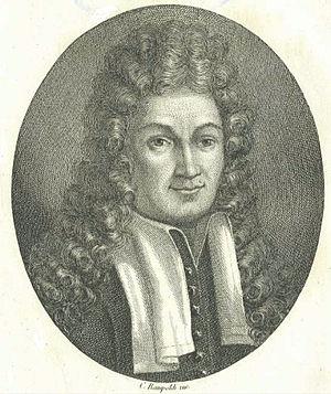 Domenico Guglielmini - Portrait of Domenico Guglielmini