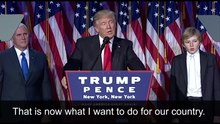 File:Donald Trump Victory Speech.webm