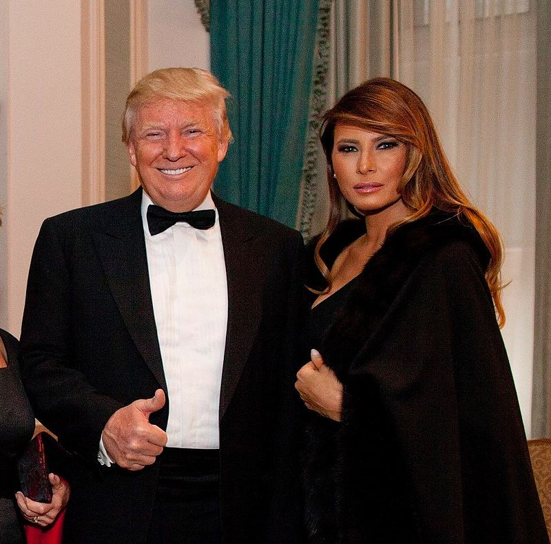 Donald and Melania Trump 2015.jpg