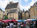 Dordogne Sarlat Ancienne Eglise Sainte-Marie Place De La Liberte Marche 082004 - panoramio.jpg