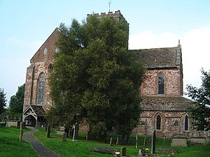 Grade I listed buildings in Herefordshire - Image: Dore Abbey, Herefordshire