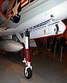 Douglas A-4B Skyhawk nosewheel detail, Intrepid Sea, Air and Space Museum, New York. (44715321290).jpg