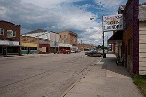 Ellendale, North Dakota - Downtown Ellendale
