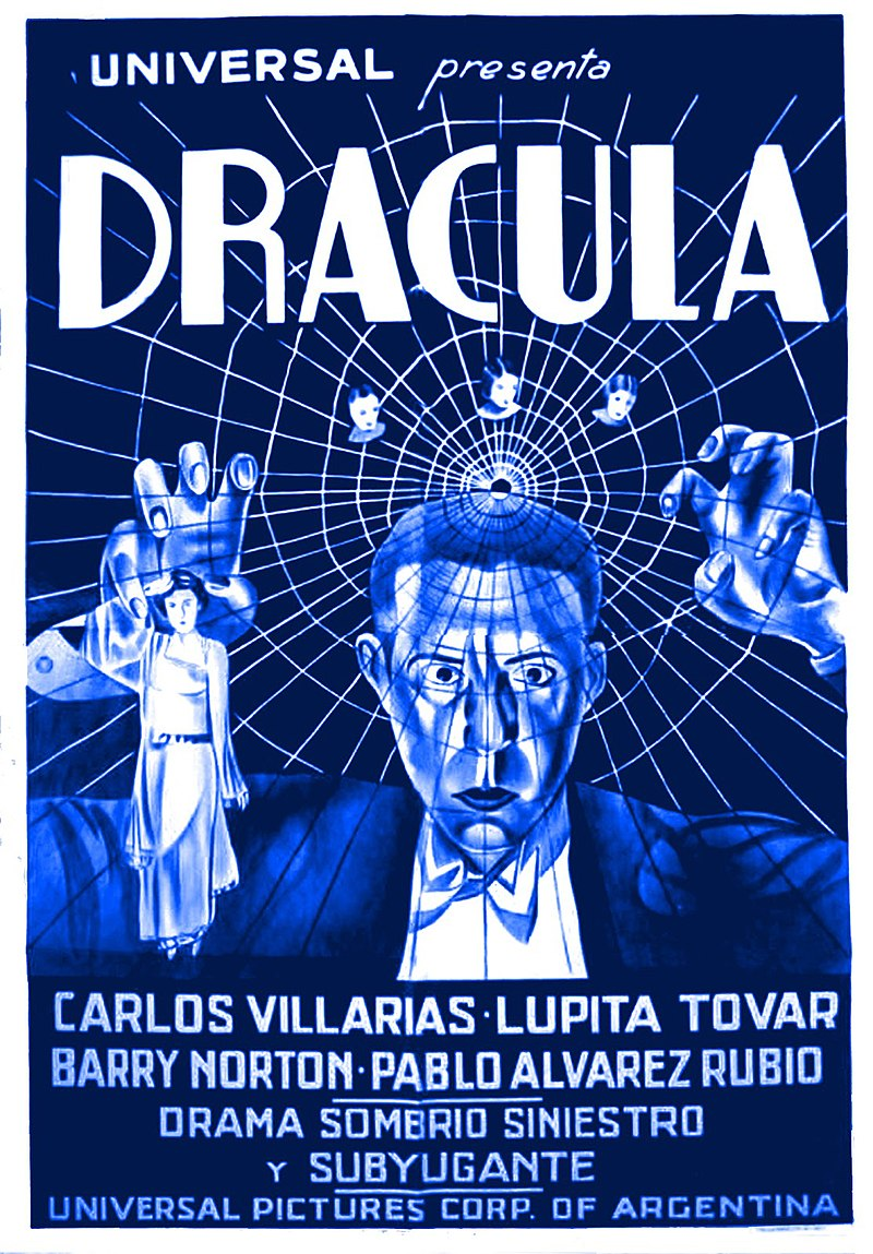 Dracula (1931 Spanish-language film poster).jpg