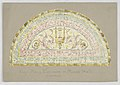 Drawing, Design for Stained Glass Window- Over Main Entrance - Music Hall, Carnegie Hall, New York, NY, late 19th century (CH 18733227).jpg