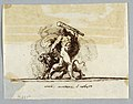Drawing, Hercules and Cerberus, 1805 (CH 18122191).jpg