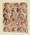 Drawing, Textile Design- Tropical Flowers, 1912–13 (CH 18805387).jpg