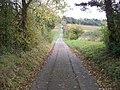 Driveway near Whitequarry Hill - geograph.org.uk - 1552500.jpg