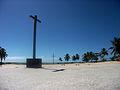 Duas cruzes marcam local da Primeira Missa celebrada no Brasil.jpg