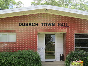 Dubach, Louisiana - Dubach Town Hall